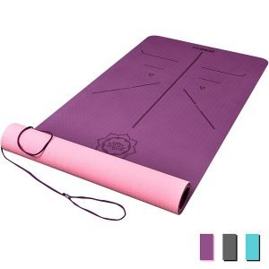 Best DAWAY yoga mat for big guys