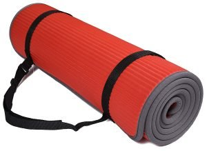 Red BalanceFrom GoFit Yoga Mat Thick